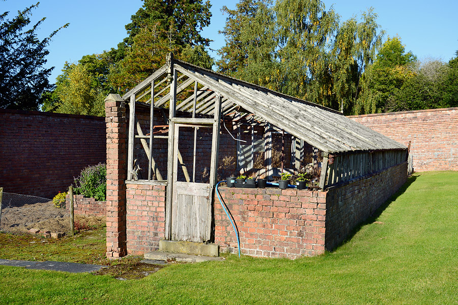 Walled Garden Pale Hall Sept 2015