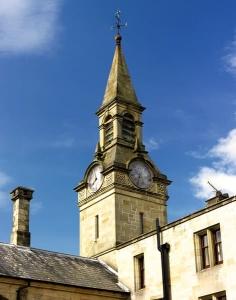 Palé Hall's clock tower