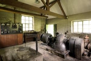 Palé Hall's hydro-electric generator