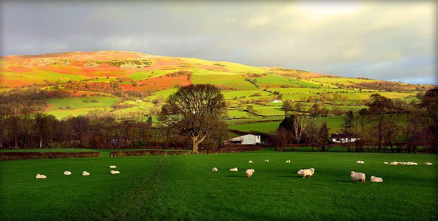 North Wales Snowdonia landscape