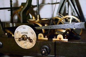 Pale Hall tower clock mechanism