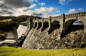 Lake Vyrnwy dam Wales