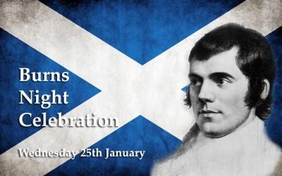 Palé Hall Burns Night event