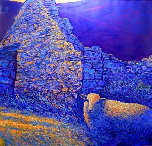 Snowdonia-based artist Rob Reen