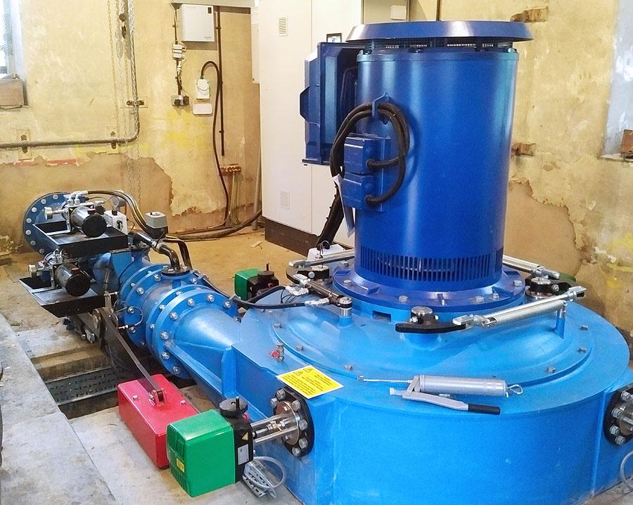 hydro-electric generator