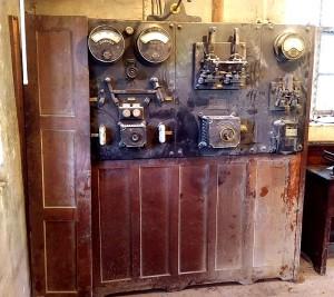 1920s hydro electric generator