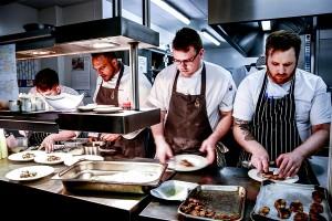 Palé Hall kitchen Michael Caines