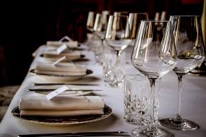 Fine dining at Palé Hall