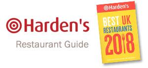 Harden's restaurant guide