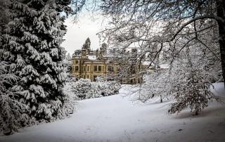 Palé Hall Hotel snow