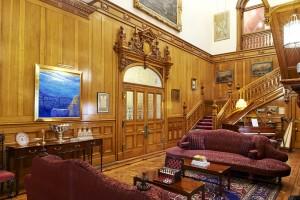 Palé Hall main hall staircase