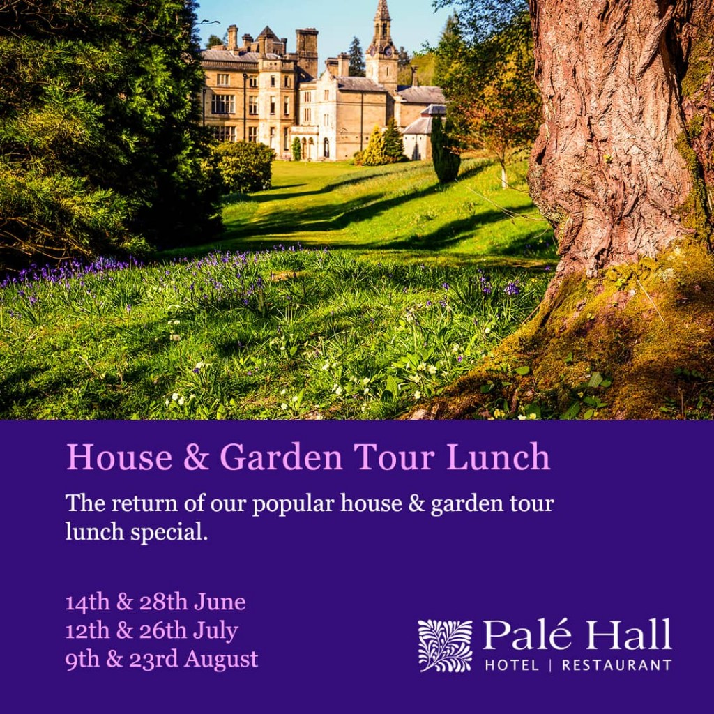 Palé Hall garden tour lunch