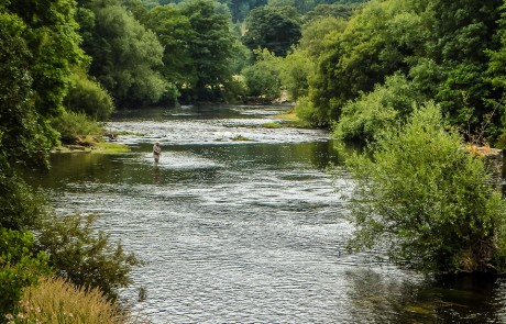 river fishing north Wales