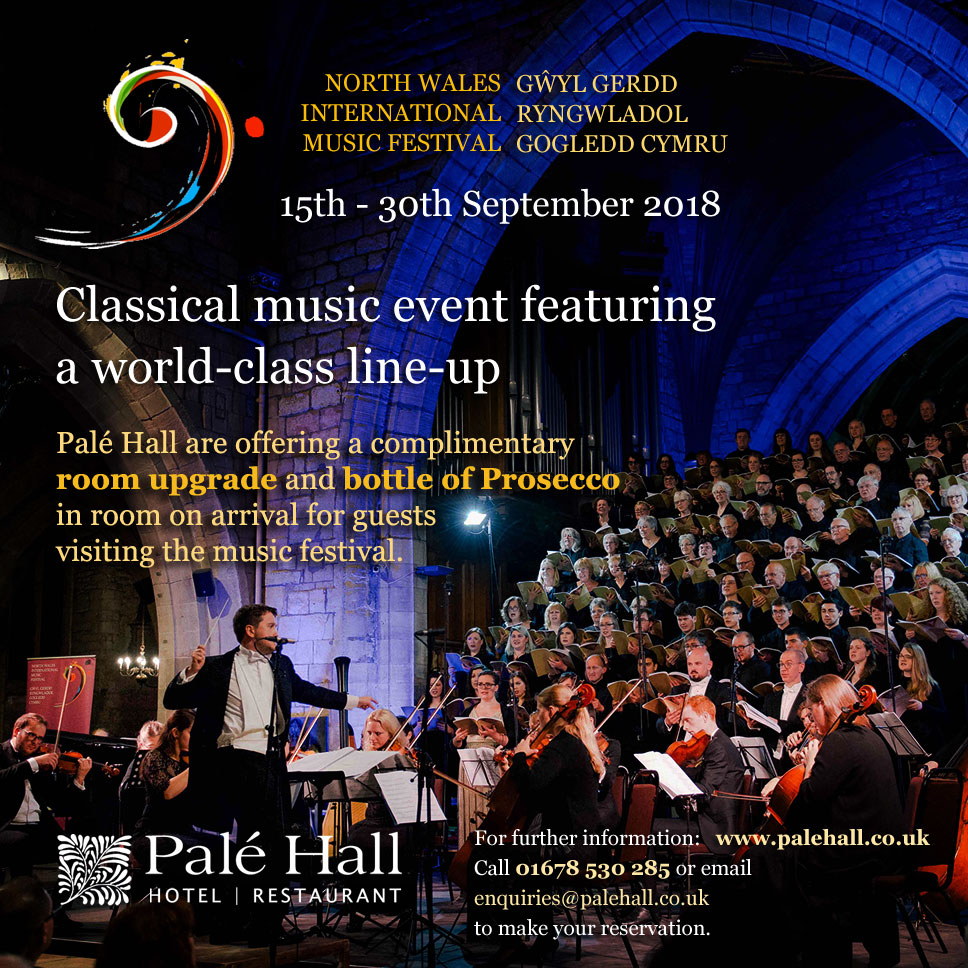North Wales International Music Festival 2018