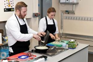 cookery demo Ysgol y Berwyn