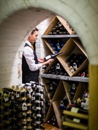 Palé Hall wine cellar