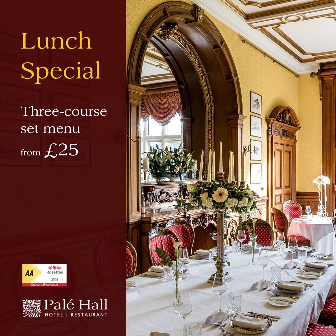 Palé Hall restaurant lunch special