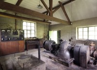 vintage hydro electric generator