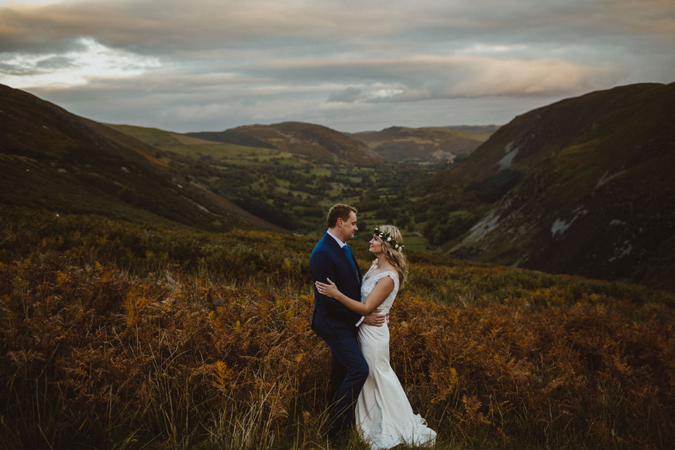 Snowdonia north Wales wedding venue