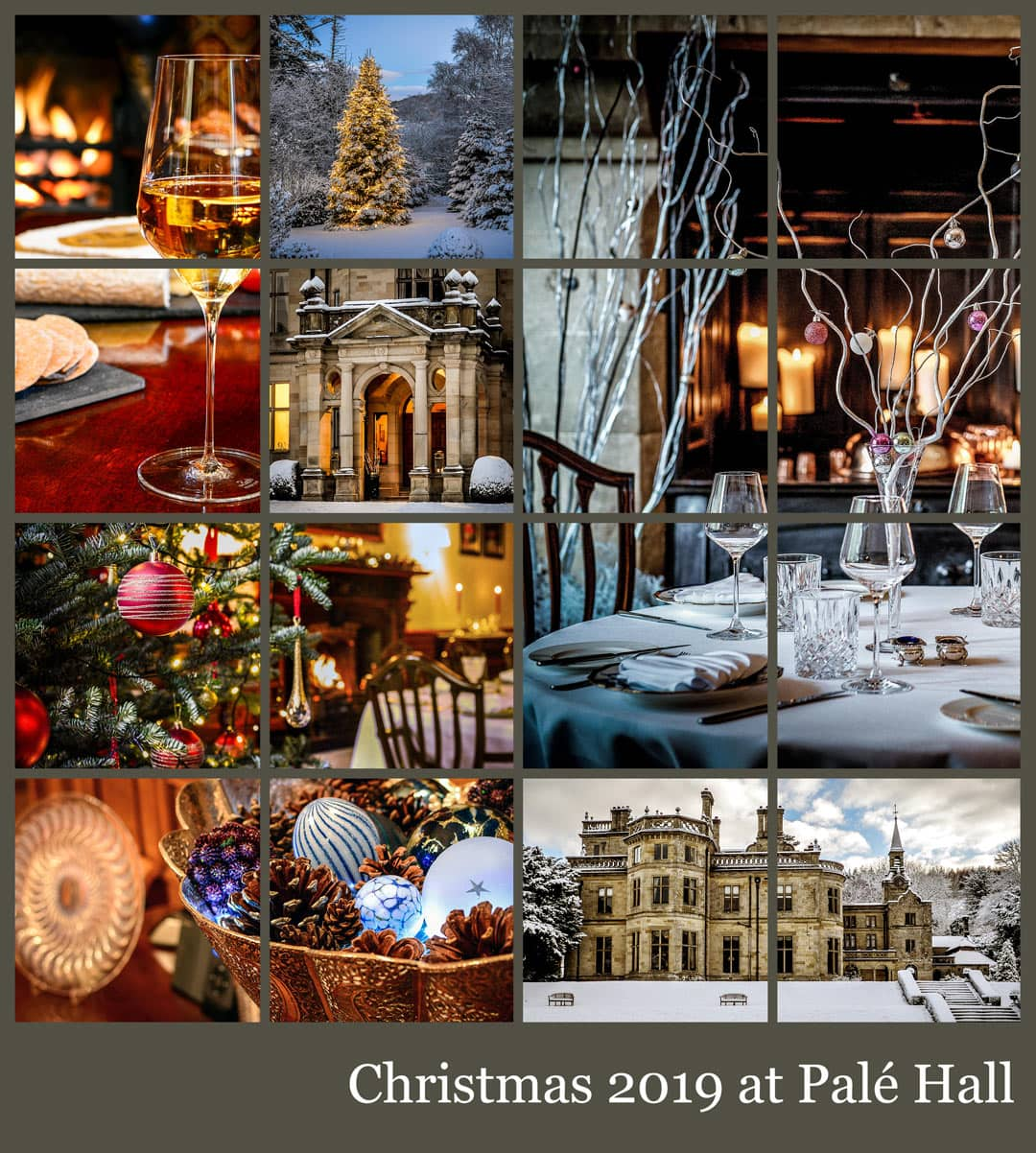 Christmas 2019 at Palé Hall