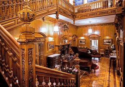 Palé Hall's grand hall