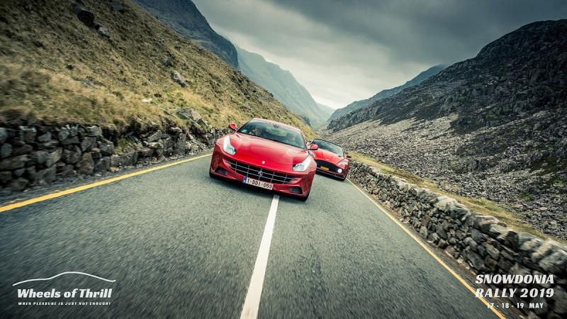 Driving Snowdonia super car club