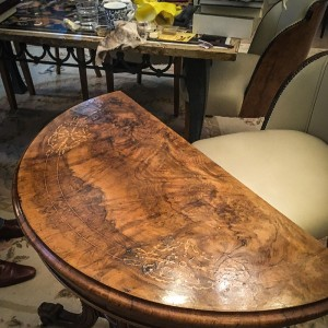 antique table repair