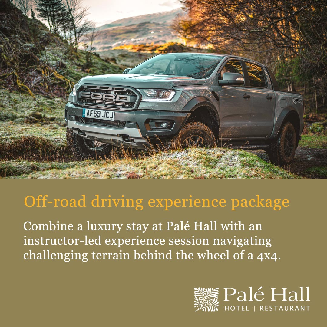 Off road driving experience package