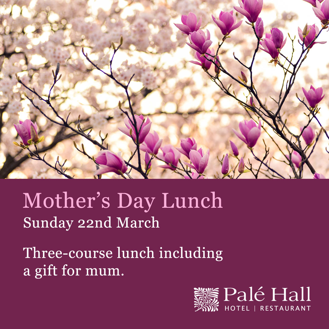 Mothers day lunch Palé Hall Hotel