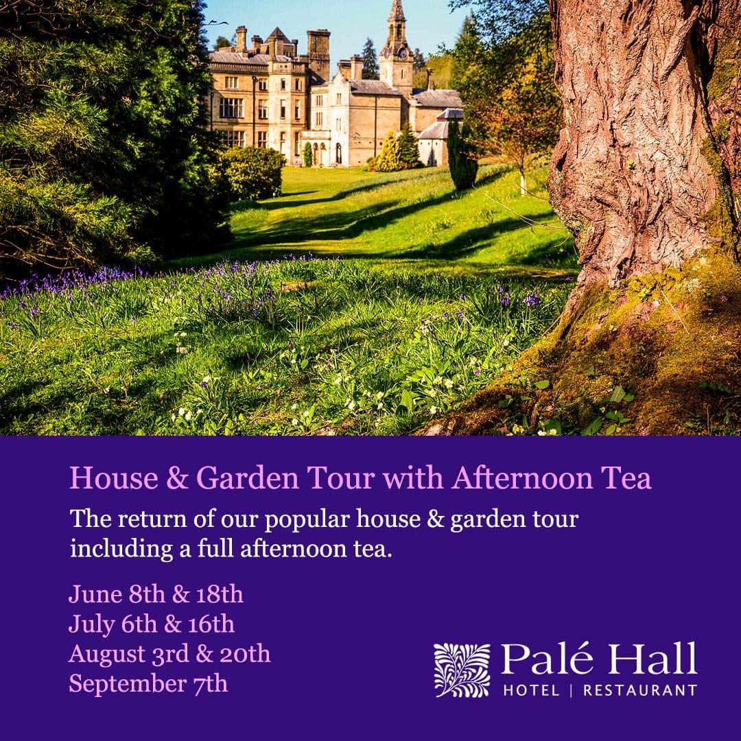 Palé Hall House & Garden Tour 2020