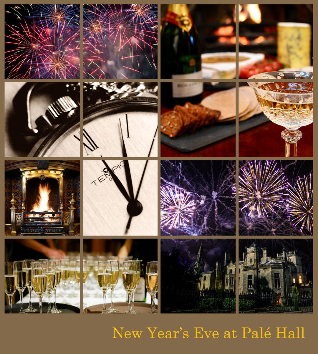 Pale Hall Hotel New Year's Eve