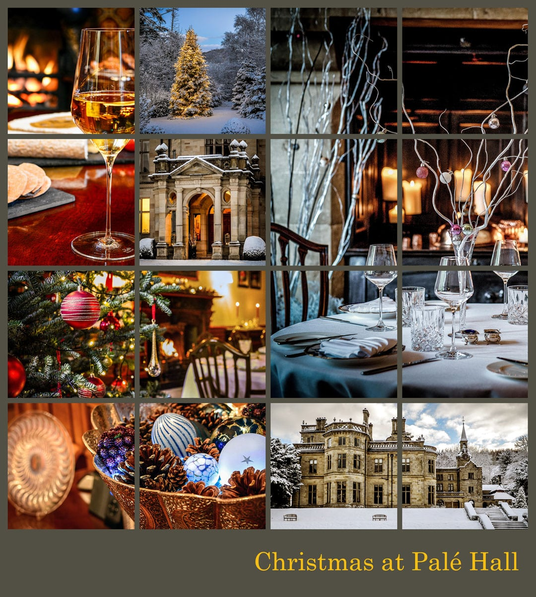 Pale Hall Hotel Christmas package
