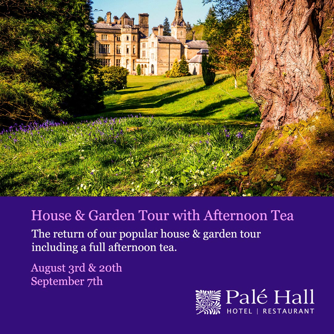 Palé Hall House & Garden Tour 2020