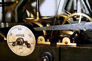 Tower clock mechanism
