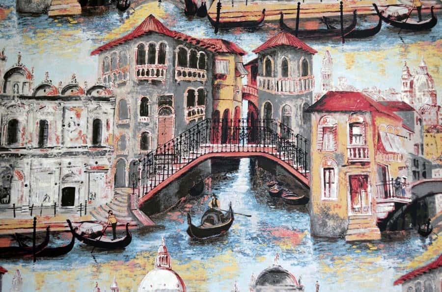 Zoffany Venetian wallpaper