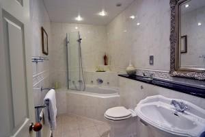 Pale Hall Hotel Chirk bathroom
