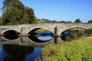 Llandderfel bridge river Dee