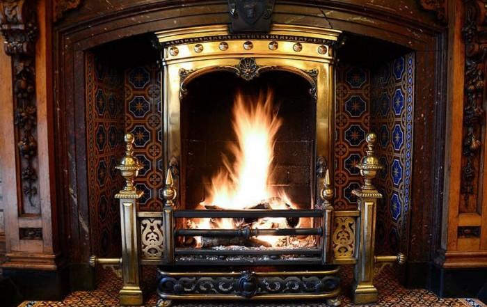 Palé Hall Victorian fireplace
