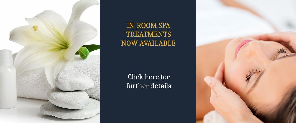 Spa treatments at Palé Hall Hotel
