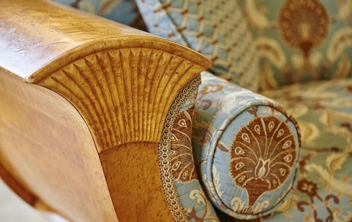 Antique Biedermeier sofa Palé Hall