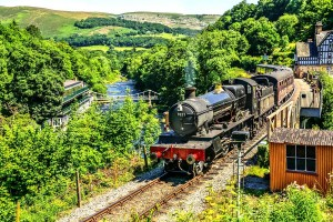 Dee valley heritage steam railway