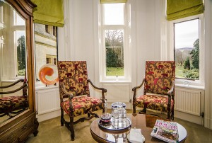 Harlech room at Palé Hall Hotel