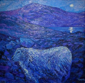 Snowdonia landscape sheep Rob Reen