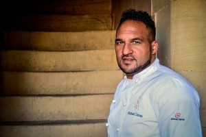 Chef Michael Caines at Palé Hall Hotel.