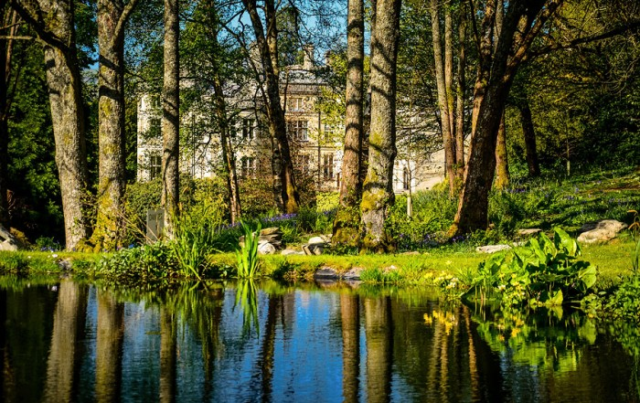 Palé Hall's ornamental pond