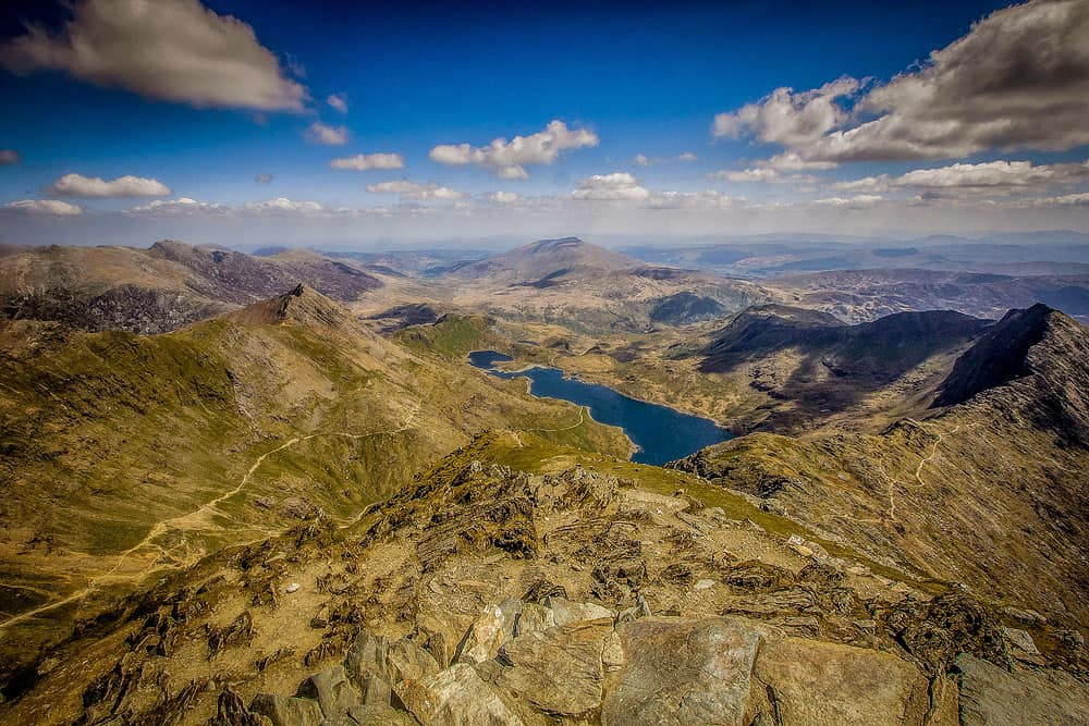 Mount Snowdon vista