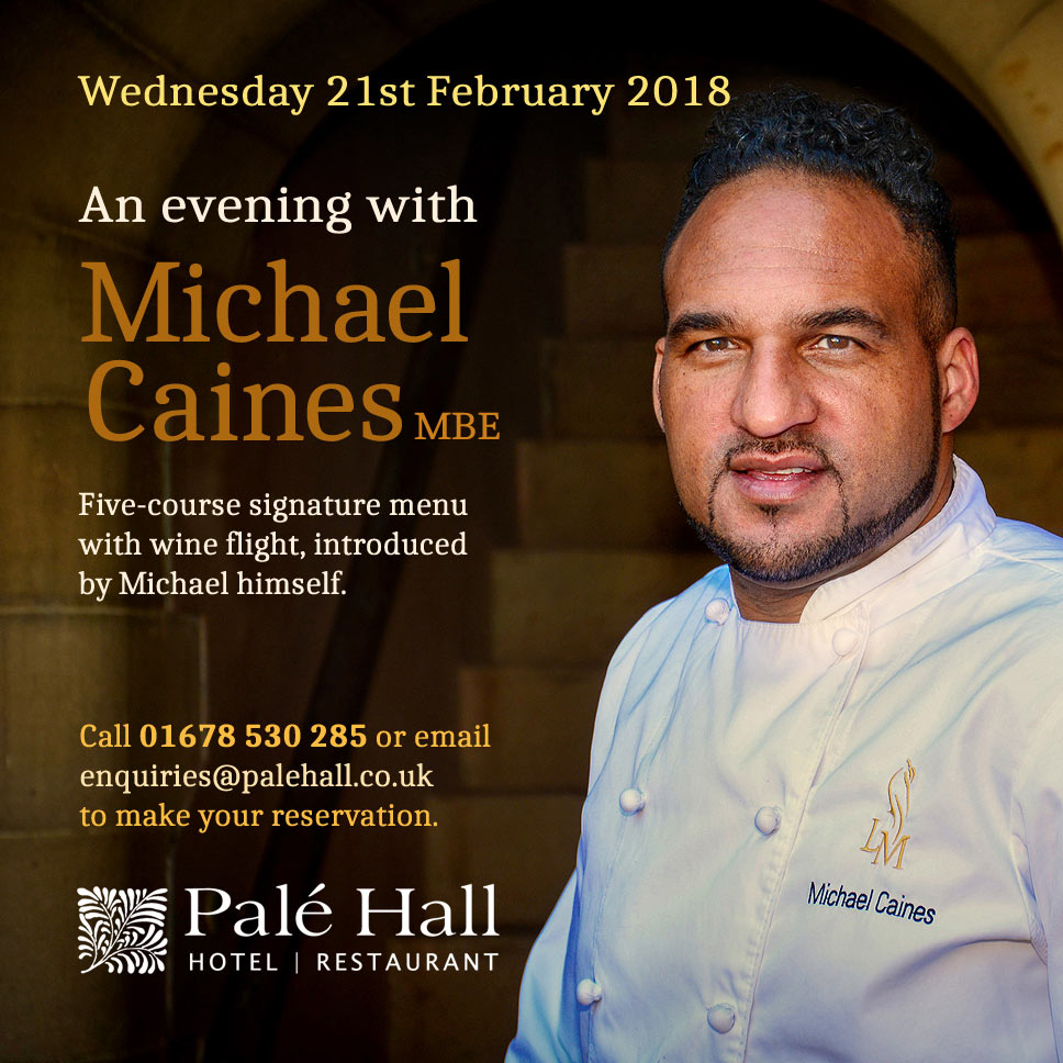 Evening with Michael Caines Palé Hall
