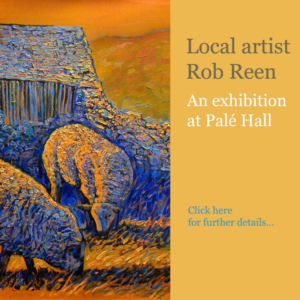 Snowdonia artist Rob Reen exhibition Palé Hall
