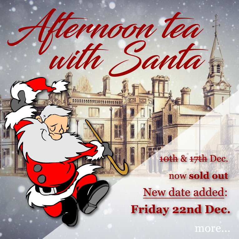 Tea with Santa at Palé Hall 2017