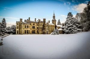 Palé Hall Hotel winter snow